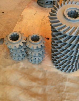 шестерни после пескоструйной обработки