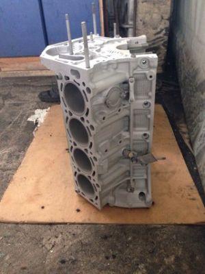 блок двигателя после обработки